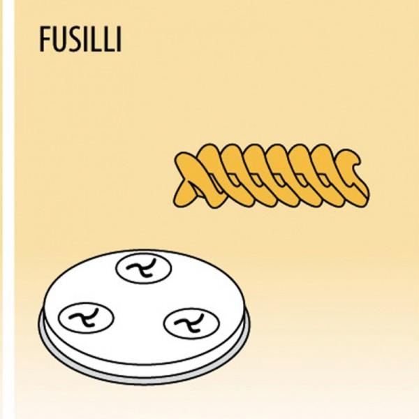 Einsatz Fusilli für für MPF Nudelmaschine