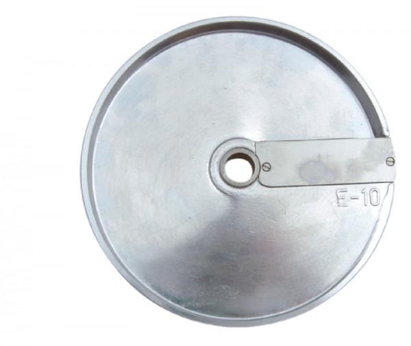 GAM Schneidescheibe E10, geeignet für zur Verwendung mit Würfelgitter D10+10, für Würfel mit 10mm un