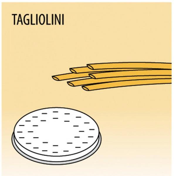 Einsatz Tagliolini für MPF Nudelmaschine