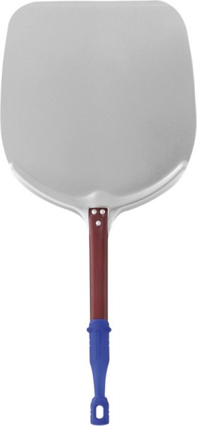 Kurze Pizzaschaufel in Aluminiumlegierung 33x35 cm h 70 cm