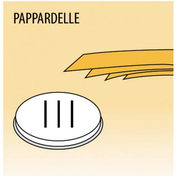 Einsatz Pappardelle für MPF Nudelmaschine