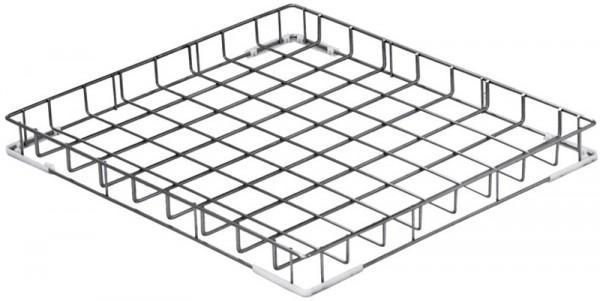 Drahtkorb aus rostfreiem Stahl 600 x 670 x 100 mm
