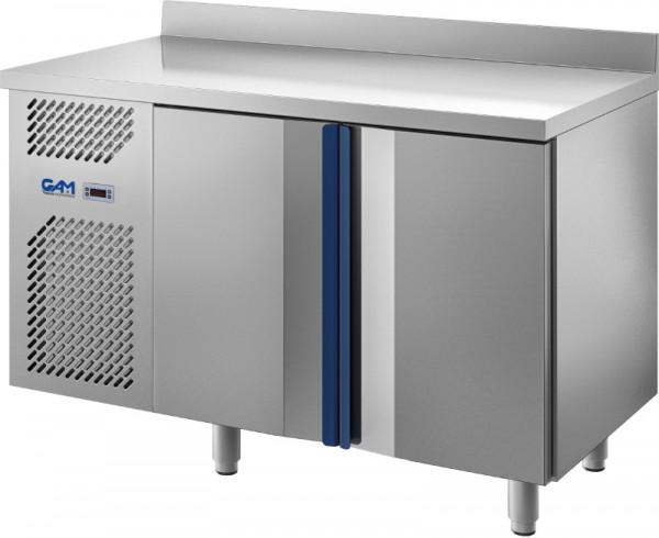 Edelstahl-Bäckereikühltisch HTRE, 800 mm Tiefe